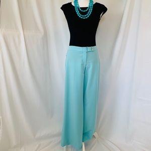 Caché Turquoise Wide Leg Pant